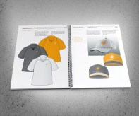 Windsor Urban brand use document apparatel specifications spread.
