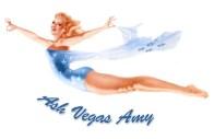 Ash Vegas Amy, concept nose artwork.