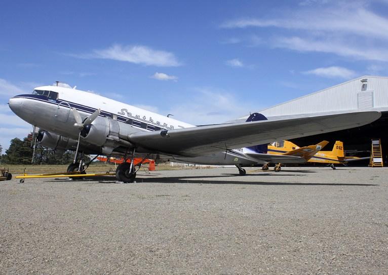 Southern DC3, ZK AMY, sburton Aviation Museum