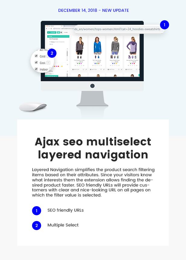 Layered navigation pro