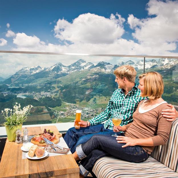 petit dejeuner romantique au champagne a 2456 m d altitude