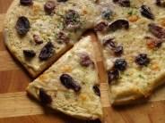 Pizza mit bohnen