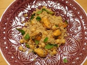 couscous mit miesmuscheln
