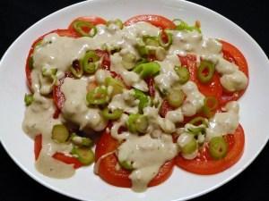 tomatensalat mit tahin