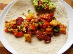 frühstücks-burritos