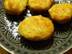 backkartoffeln mit käse und blumenkohl