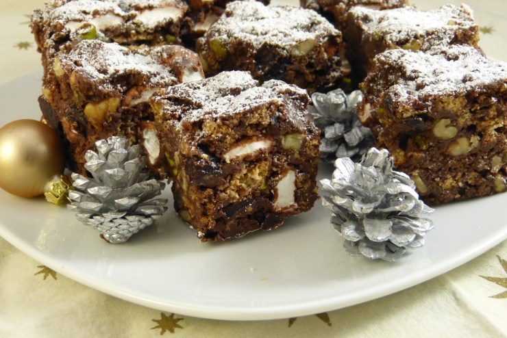 christmas rocky road