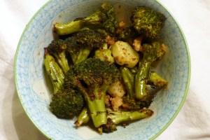 ofengerösteter brokkoli