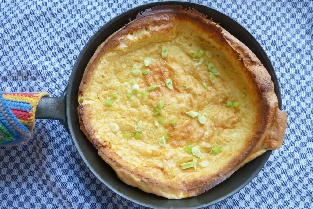Pascade – Soufflierter Pfannkuchen aus dem Ofen