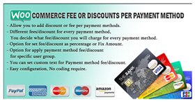 WooCommerce Fee Or Discounts Per Payment Method