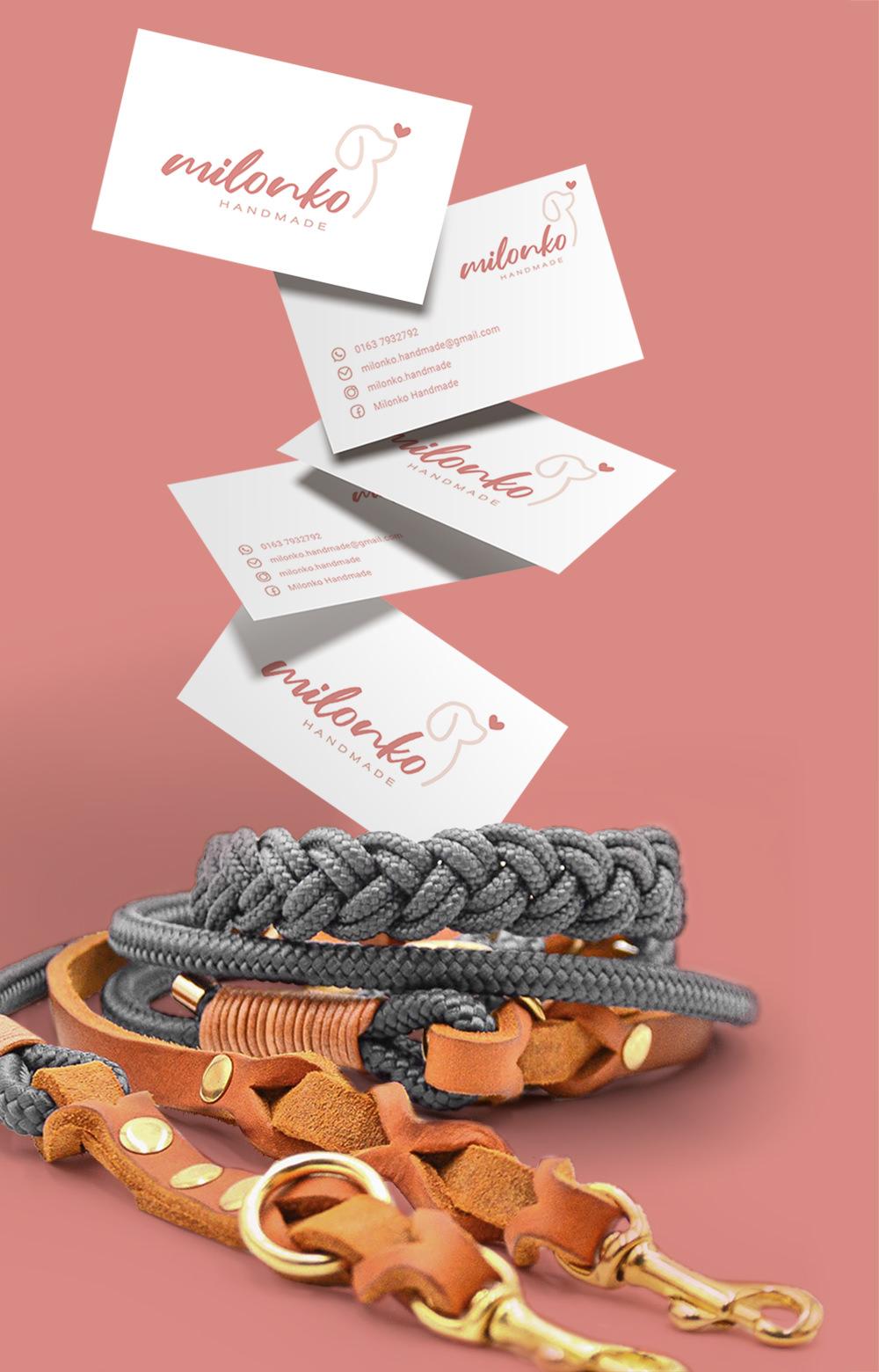 MAGES Design l Referenzen l Milonko Handmade Visitenkarten