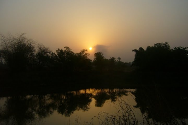 Sunrise at Sagunabaug, Nerul!