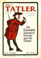 Tatler magazine's front cover in 1901