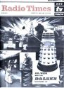 The first Daleks cover for Radio Times in November 1964