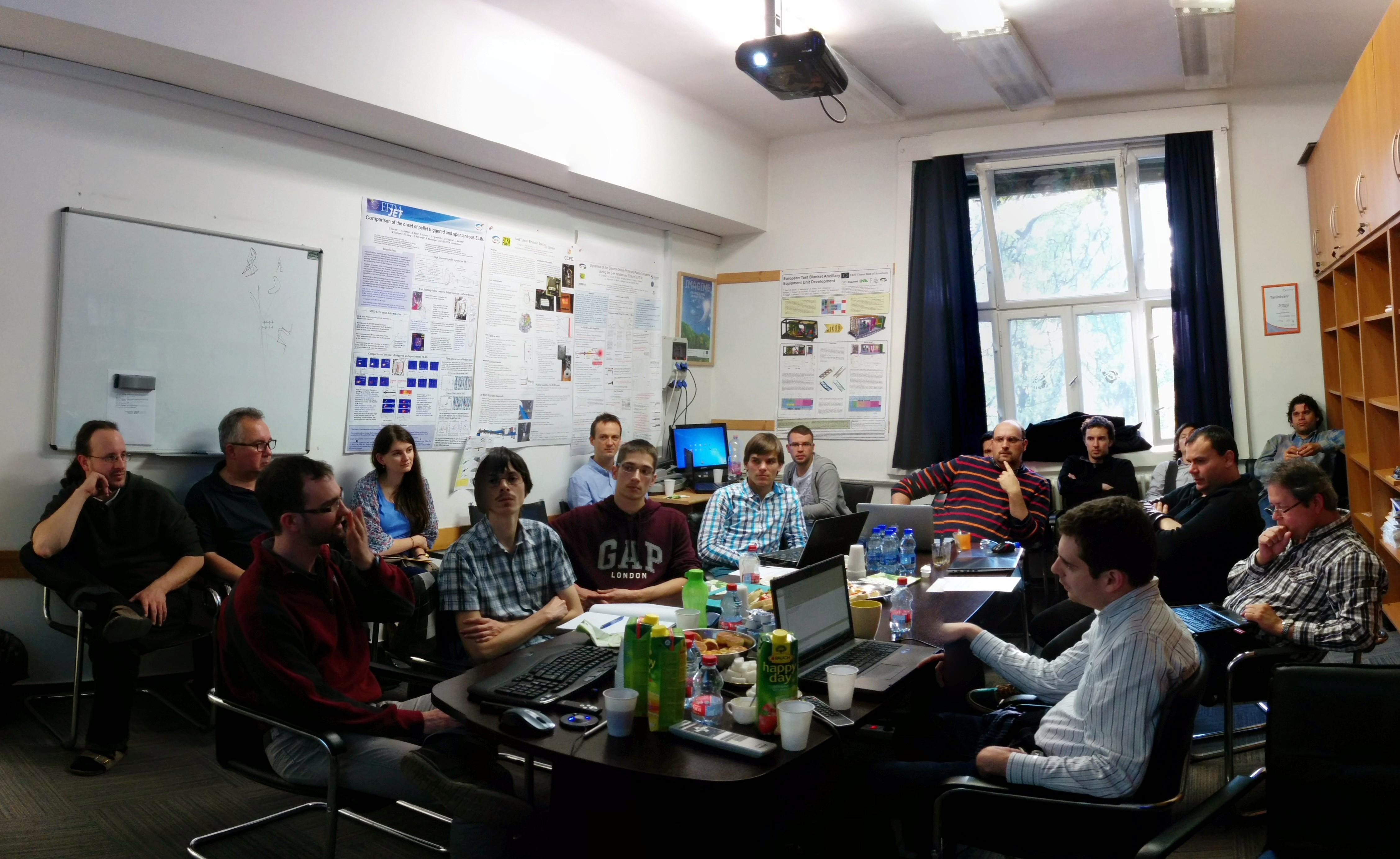 Python a fúzióban workshop a Wigner Fizikai Kutatóközpontban