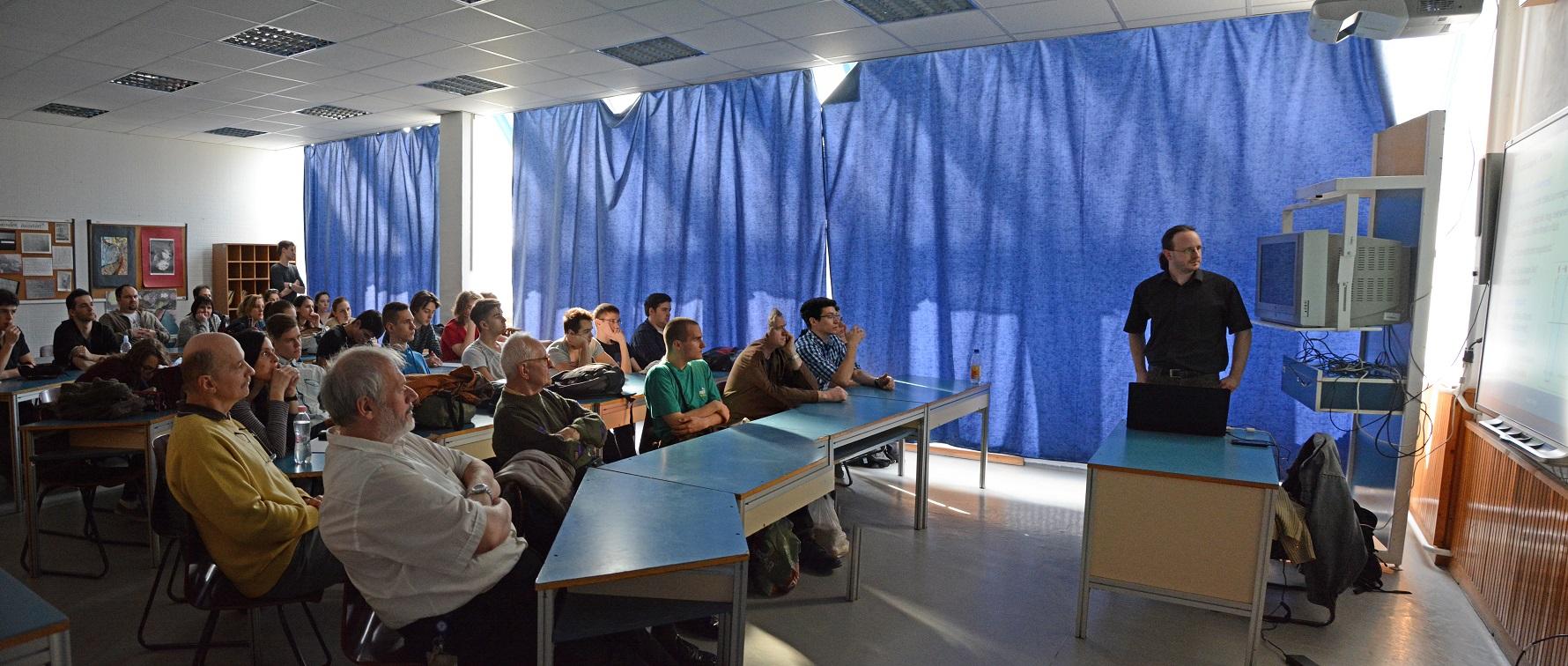 Ismeretterjesztő előadás a Kazinczy Gimnáziumban
