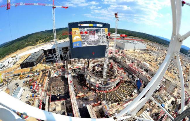ITER worksite June 2017