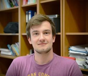 Internship student Jan-Henrik Herrig