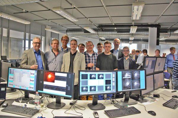 A videodiagnosztika csapat a W7-X első plazmája után