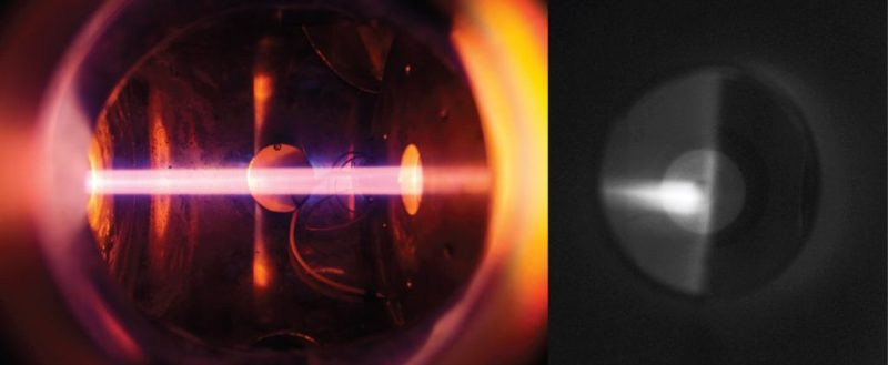 Alkali beam in the lab and in plasma
