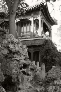 View of old architecture in the Forbidden City