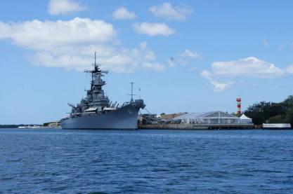 Looking at the #USSMissouri