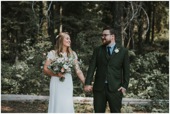 First Look Boise Wedding Photographer