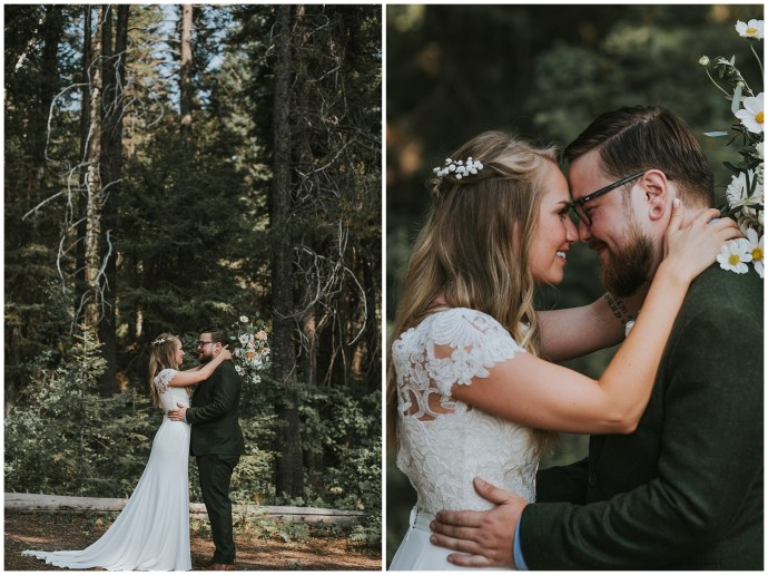 Boho Wedding in McCall Idaho