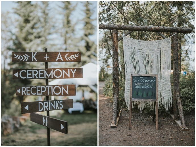 Boho Fall Wedding McCall Idaho