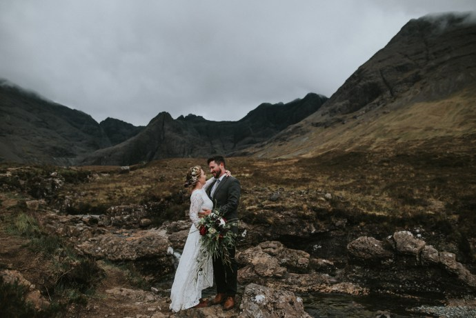 Fairy Pools Elopement Scotland