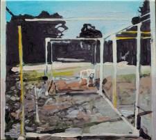 untitled (dark structure) 2010