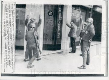 Searching for members of the Tupamaros, 1970.