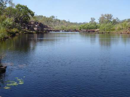 Sweetwater pool on the Jatbula Trail.