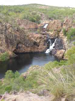 Top pool, just above the campground on the Jatbula Trail.