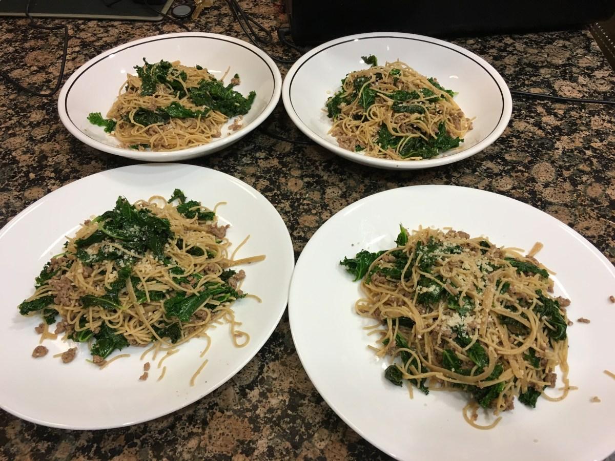 Garlic Parmesan Kale feature image