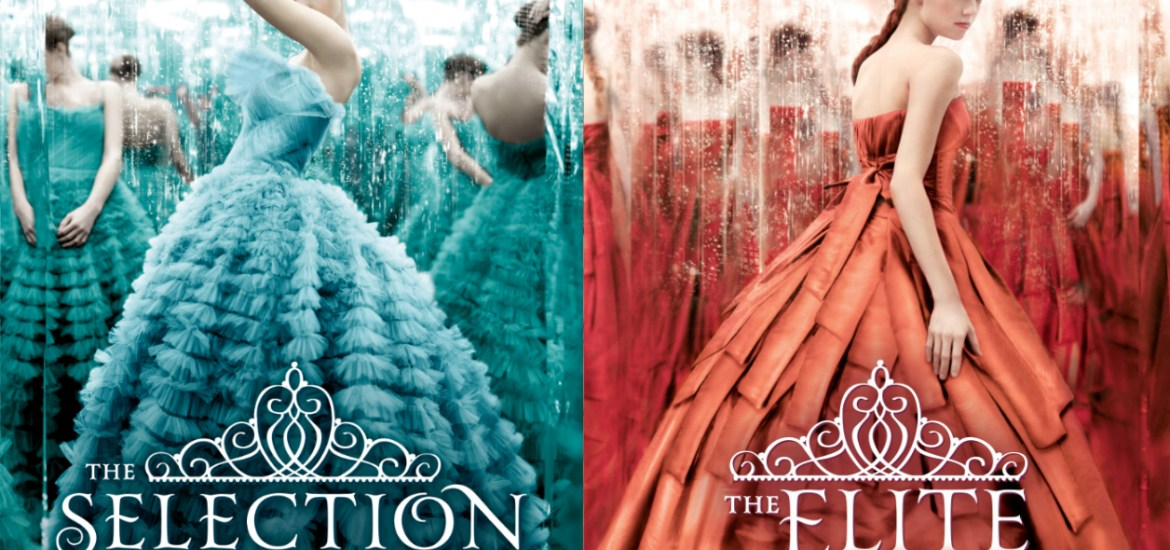 "Book Covers for ""The Selection"" and ""The Elite"""