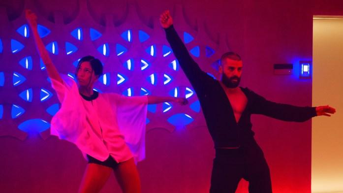 Nathan and Kyoko dance