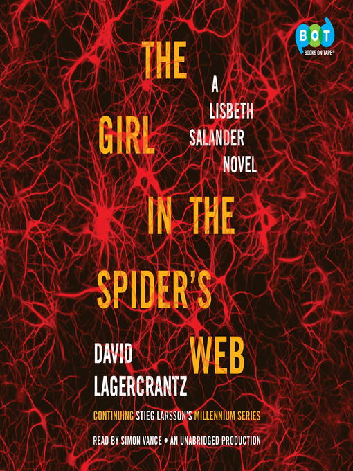 The Girl in the Spider's Web audio book cover