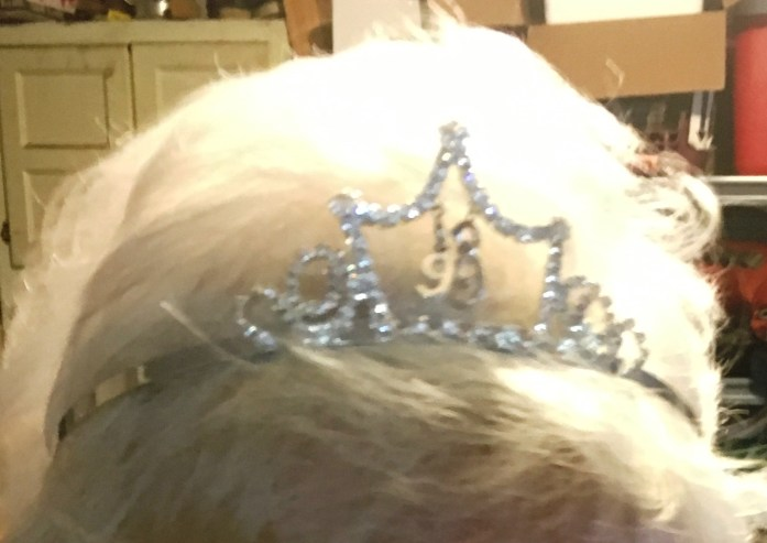 Birthday crown for my Grandma