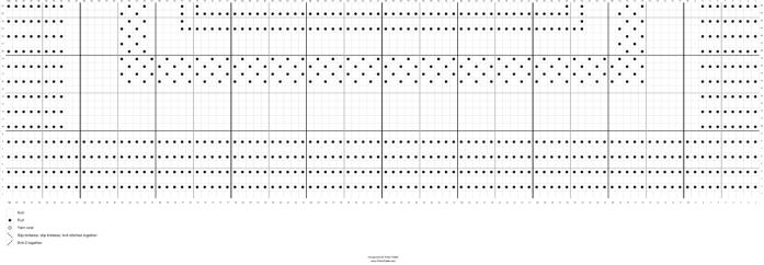 Lovey Edge Pattern - Stitch Fiddle