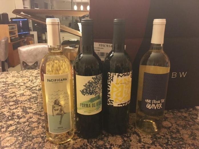 Club W Winc wine assortment