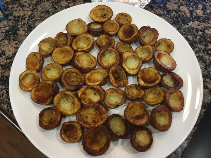 roasted potato cups