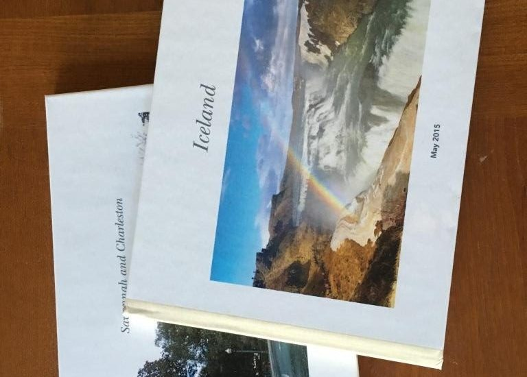 Trip books from Shutterfly