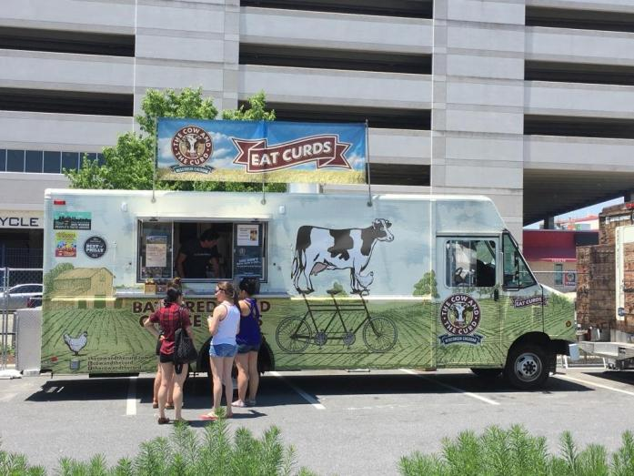 The Cow and the Curd food truck