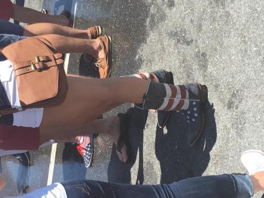 'Merican feet