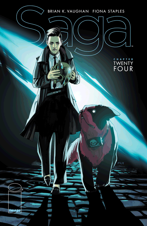 Saga Issue 24 Cover
