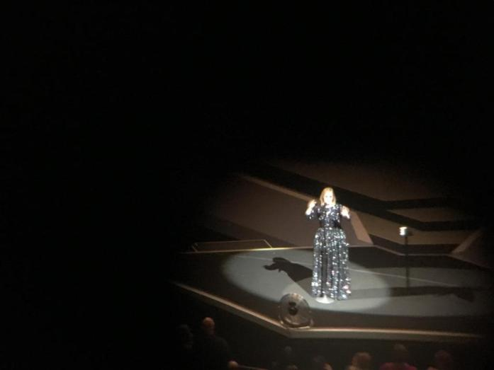 Adele Live 2016 at the Verizon Center.  So many sequins - did you expect anything less?