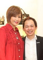 Maggie Loo with Dato' Lew Fong Voon , Founder of Lewre International Sdn Bhd