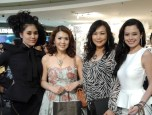 Maggie Loo with Miss Malaysia World 2011 Chloe Chen, Dr Reiko Soo VL Skin Care and Gabriella Robinson Miss Tourism International 2011