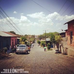 Barrio El Calvario León Nicaragua